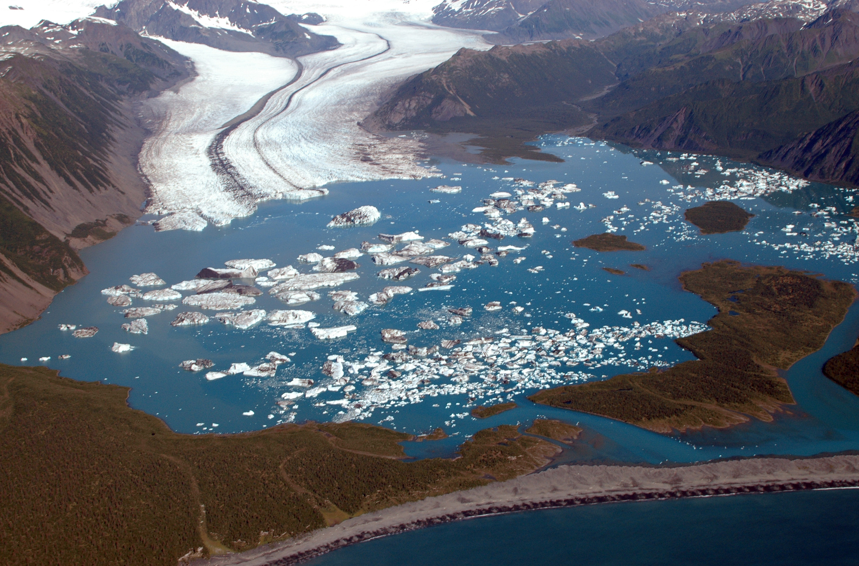 Bear Glacier Changes With Global Warming